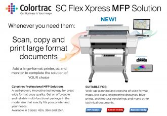 Paradigm Imaging Group Announces the New Colortrac SC Flex Xpress MFP Systems