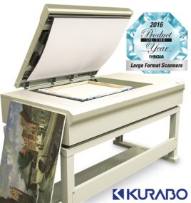 KURABO Wins Product of the Year for Large Format Scanners at the 2016 SGIA Expo