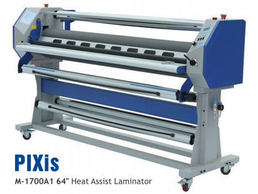 """NEW PIXis 64"""" Heat Assist Laminator added to Paradigm Imaging Groups line of Wide Format Equipment"""