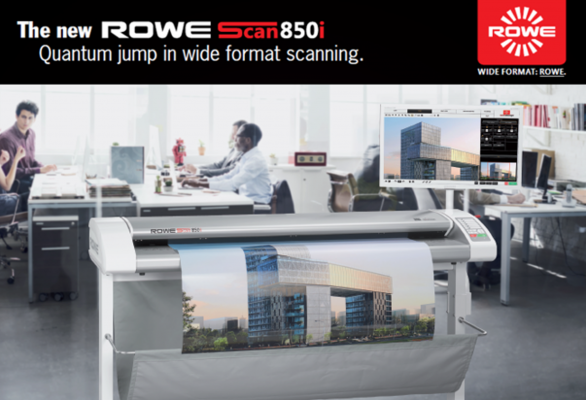 Patented Technology Drives North American Sales of German Made ROWE Ultra-Wide Scanners